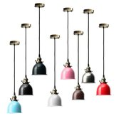 E27 pendant teto do vintage luz lâmpada luminária retro moderna forma cafe bar