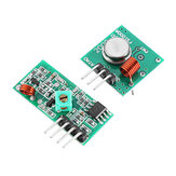 3pcs 433Mhz RF Decoder Transmitter Com Receiver Module Kit Para ARM MCU Wireless Geekcreit for Arduino - produtos que funcionam com placas oficiais Arduino