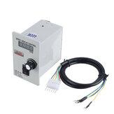 Digitalanzeige 400 W AC 220 V Motordrehzahl UX 52 Reglersteuerung Vorwärts und Rückwärts 50/60 Hz