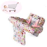 Carrinho de compras de bebê Carrinho de assento Almofada protetora Criança Criança Capa de cadeira alta