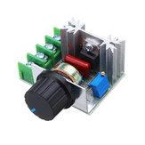 5 Adet 2000W Hız Kontrol Cihazı SCR Voltaj Regülatörü Dimmer Termostatı