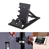 IPRee® 3 In 1 EDC Mini Card Cutter Multifunctional Folding Phone Holder Bracket Bottle Opener Tool Kits
