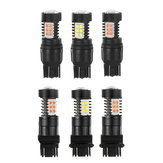 T20 Led-lamp 7443/3157 SMD3030 Wit / geel / rood Motorfietsauto Automobielverlichting