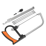 HILDA 8 in 1 Multifunction Hacksaw DIY Woodworking Hand Saw for Metal Wood