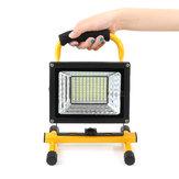 500 W 130 LED Portátil Ao Ar Livre Camping Luz de Inundação Spot Lâmpada de Trabalho Recarregável