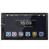 Lecteur universel MP5 de voiture de la broche à double axe de Bluetooth d'écran tactile de 7 pouces avec ou sans GPS