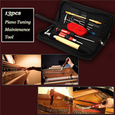 13pcs Professional Piano Tuning Maintenance Toolkits Hammer Screwdriver with Case