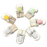 T10 194 168 W5W COB 8SMD SILICA Car LED Door License Light Bulb