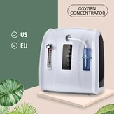 آلة تركيز الأوكسجين 1-6L / min آلة أكسجين محمولة قابلة للتعديل للاستخدام المنزلي والسفر بدون البطارية