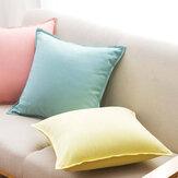 MEIWANAlmofadadeAlgodãoPuroNatural Ambiental Capa Travesseiro Almofada Decorativa Para Viagens Em Casa a partir de Xiaomi Youpin