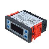 XD-W200 24 V Dijital Ekran Akıllı Sıcaklık Kontrol Soğuk Depolama Denetleyicisi Ayarlanabilir Termostat Ile Sensör