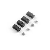 Happymodel Moblite7 Spare Part 4 PCS Anti-vibration Shock Absorber Damping Ball with M1.2x4 Screws for FPV Racing RC Drone