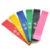 6PCS Resistance Bands Power Strength Exercising Idoneità Gym Cr