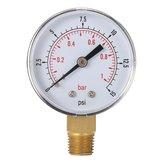 TS-50-15psi 0/15 PSI 0/1 Kraftstoff-Luftkompressor Niederdruckanzeige Bar Meter Hydraulische Prüfvorrichtung Manometer