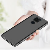 Bakeey for Xiaomi Redmi Note 9 / Redmi 10X 4G Case Silky Smooth Anti-fingerprint Shockproof Hard PC Protective Case Back Cover Non-original