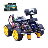 Xiao R DIY Smart Robot Wifi Video Control Car with Camera Gimbal  UNO R3 Board