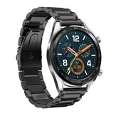 Bakeey 22mm tre perline orologio in acciaio inossidabile solido Banda per Huawei GT Smart Watch