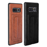 Card Slot PU Leather Kickstand Magnetic Case for Samsung Galaxy Note 8