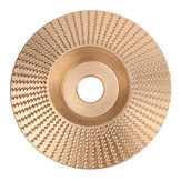 84mm 100mm Wood Sanding Carving Shaping Disc Flat Arc Bevel Grinding Wheel Tool for Angle Grinder