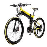 [EU Direct] LANKELEISI XT750 10.4Ah 48V 400W Sepeda Listrik Moped 26 Inci Sepeda Lipat Cerdas 35km / jam Kecepatan Maksimum Beban 180kg Dengan EU Plug