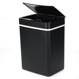 15L Waste Bin Large Capacity Upgrade Automatic Induction Dry Wet Sorting Bin Household Office Garbage Trash Bin