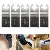 5 Adet 35mm Bi-metal Jiletler Dewalt Stanley Siyah ve Decker Salınımlı Çok Amaçlı Çok Amaçlı