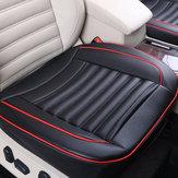 50x52cm Car Seat Cover PU Leather Auto Chair Cushion Mat Buckwhear Shell Filling 1Pcs Universal
