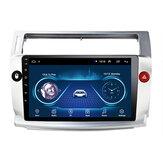 9 дюймов 2Din Android 9,1 Авто Стерео Радио Мультимедийный проигрыватель Quad Core 1 + 16G WIFI GPS Navi FM для Citroen C4 C-Triomphe C-Quatre 2004-2009