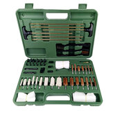 Universal Cleaning Kit Hunting Shot Rifles Airgun Cleaning Kit Set with Case Travel Size Portable Metal Brushes