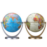 360 Dregee Globos rotativos Earth Ocean Globe World Geography Map Table Desktop