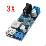 3pcs 24V / 12V до 5V 5A DC-DC Buck Power Module Step Down Модуль Power Converter