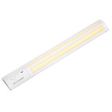[Upgrade Version] BlitzWolf® BW-LT8 PIR Light Motion Sensor LED Cabinet Light Removable Lithium Battery 3000K Color Temperature for Bathroom Bedroom Storage Room Stick-on Stairs Step Light Bar