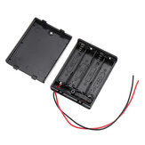 4 Slots NO.7 AAA Battery Box Battery Holder Board with Switch for 4 x AAA Batteries DIY kit Case