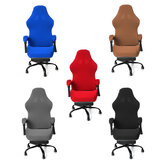 Elastic Office Chair Cover Universal Spandex Computer Rotating Chair Protector Stretch Armchair Seat Slipcover Home Office Furniture Decoration