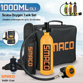 S400+ D Set 1000ML Oxygen Cylinder Diving Equipment Set  For SMACO