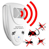 Loskii LP-04 Ultrasonic Pest Repeller Elektronisk skadedyrsbekæmpelse Repel Mouse Bugs Mosquitoes Roaches Killer