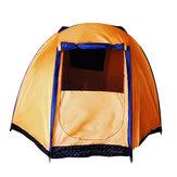 Outdoor5-6personeTendagrandeImpermeabile Double Layer Famiglia Baldacchino Outdoor campeggio