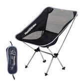 NATUREHIKE Outdoor Ultralight Portable Folding Chair with Carry Bag Camping Fishing Folding Chairs Beach Moon Chair