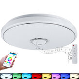 40cm 48W Wifi RGB LED Bluetooth Musik abspielen Intelligente Deckenleuchte Dimmbare APP Intelligente Sprachfernbedienung Funktioniert mit Alexa Google Home