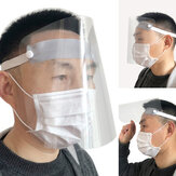 Outdoor Transparent Protective Mask Water Proof Detachable Regulationr Dust-Proof Saliva-Proof Adult Mask