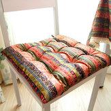 Almofada de assento de 40x40cm Soft Almofada de assento de nádegas Almofada de assento de tatame grosso Almofada de pátio quadrado Casa escritório Restaurante Tapete traseiro Decoração