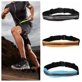 Running Waistband Outdoor Ridding Treadmill Elastic Invisible Pockets Chest Package