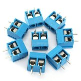 20 pcs 2 Pin Konektor Blok Terminal Sekrup Plug-In 5.08mm Pitch