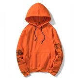 Heren Casual Hooded sweater Herfst Winter Mode Afdrukken Hoodies Sweatshirts