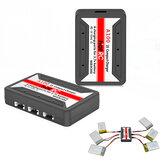 HotRc A100 6 en 1 Chargeur Lipo Batterie 3.7V pour Hubsan X4 Q4 H107L H107C WLtoys JJCR UDI