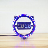 SSY DIY Creative Clock Kit Night Light Clock Electronic Education Kit Digital Tube Set