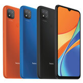 Xiaomi Redmi 9C Global Version 6.53 inç 2GB 32GB 13MP Üçlü Kamera 5000mAh MTK Helio G35 Octa Core 4G Akıllı Telefon