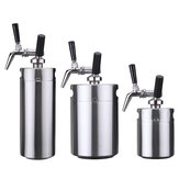Nitro Cold Brew Coffee Maker Mini Stainless Steel Keg Home Brew Coffee Cup System Kit