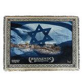 Manta decorativa plegable tapiz de punto Alfombra de oración Middle East Sofá Toalla para textiles para el hogar