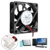 60*60*15mm 4 Pin Low Noise Silent Computer Case Cooling Fan Cooler